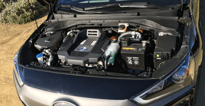 2019 Hyundai Ioniq Engine