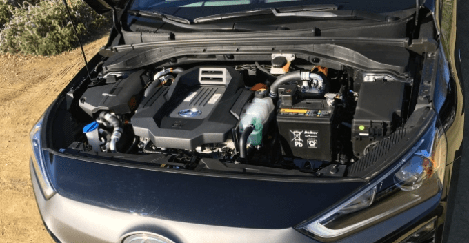 2020 Hyundai Ioniq Engine