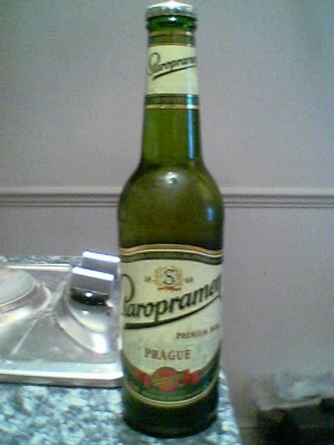 Staropramen Premium bottle