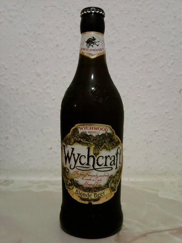 Wychwood Wychcraft Blonde Beer bottle
