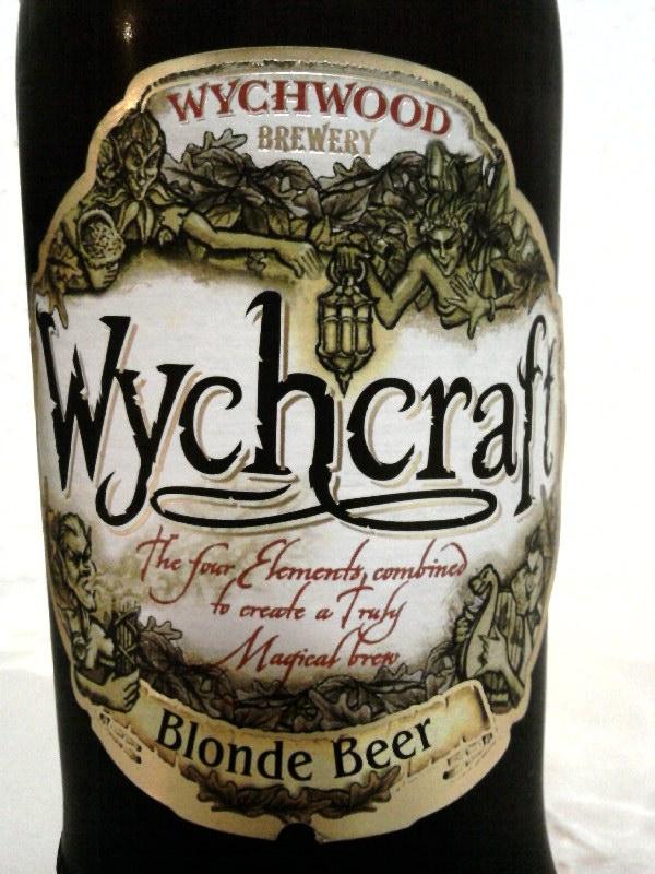 Wychwood Wychcraft Blonde Beer front label