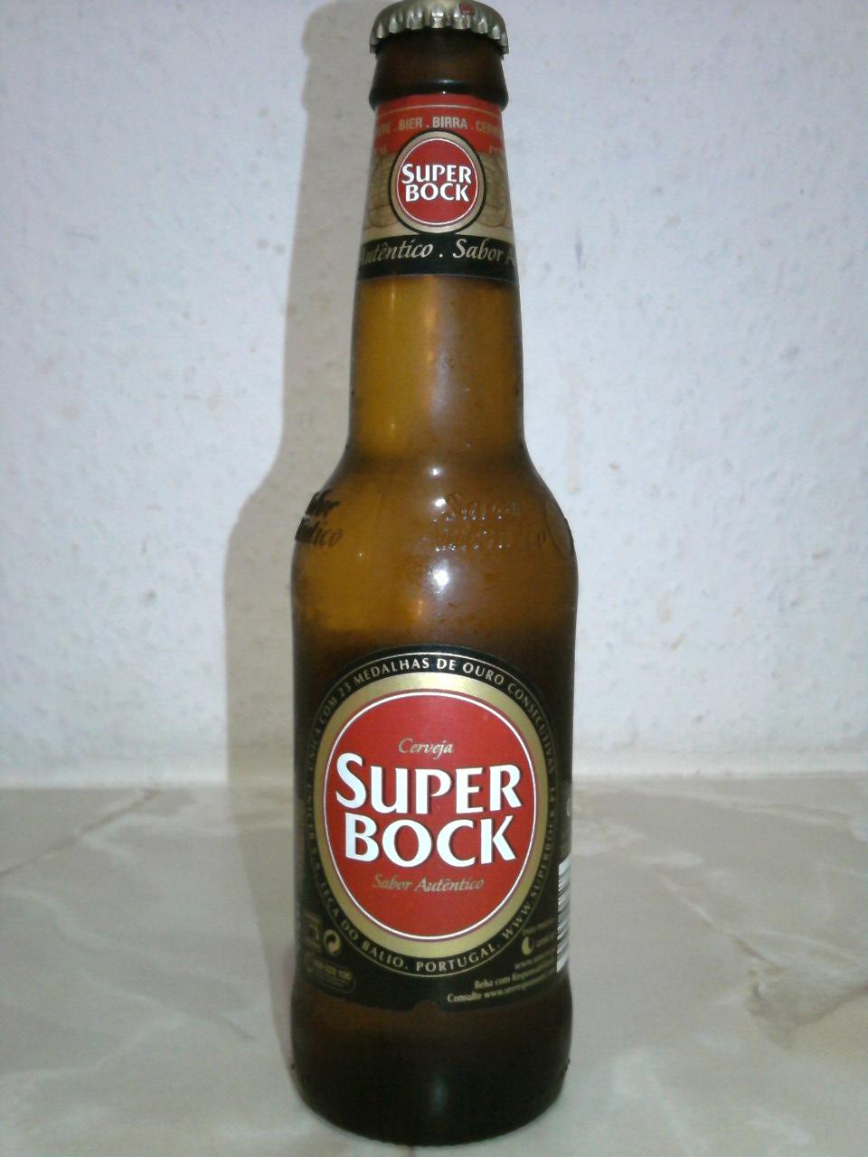 Super Bock bottle