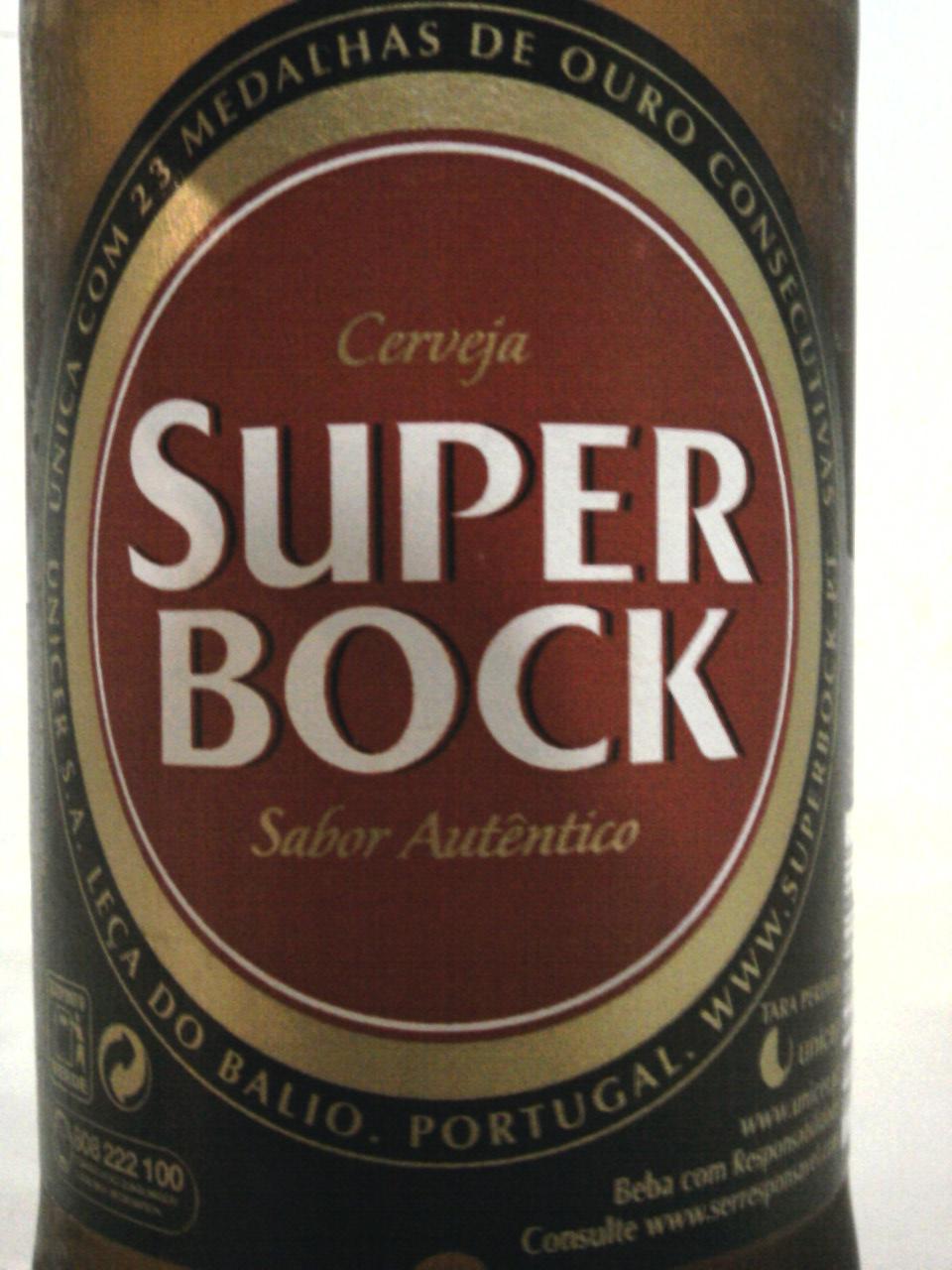 Super Bock front label
