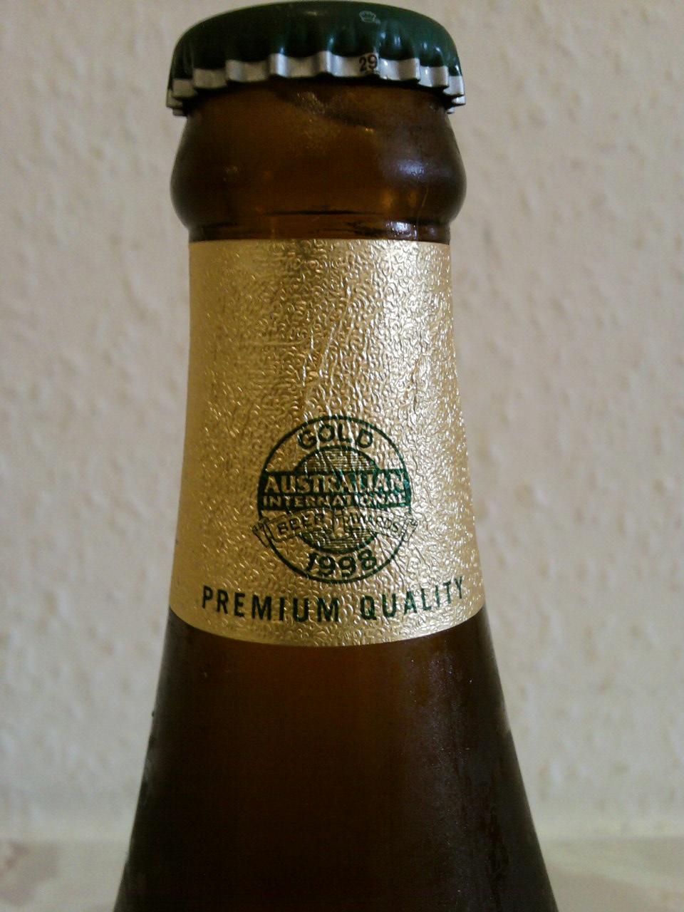 Chang Beer neck foil