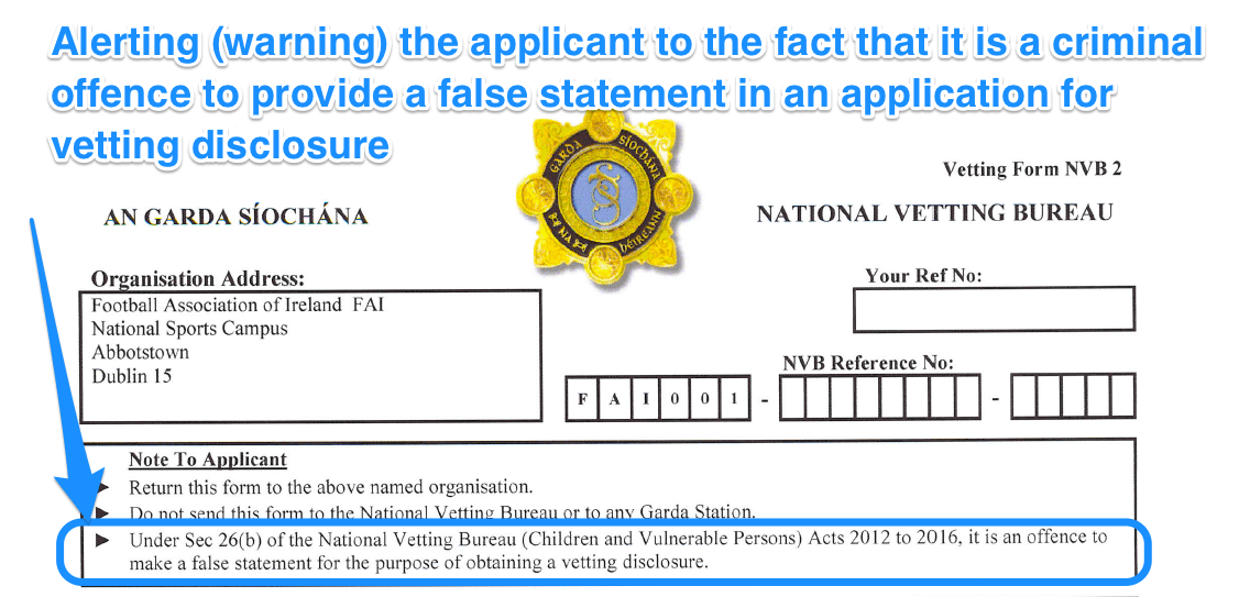 Vetting Form NVB 2