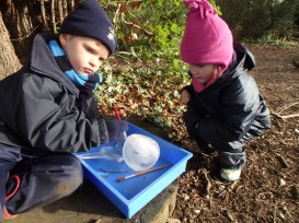 Giant ice marbles