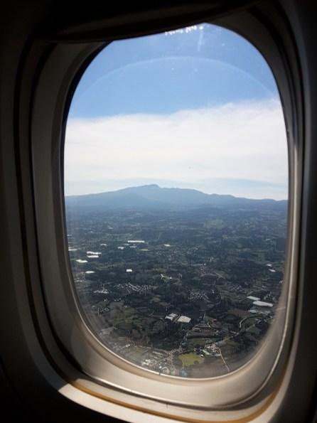 jeju depuis avion
