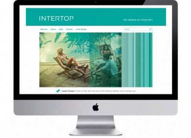 Intertop Digital Fashion branding