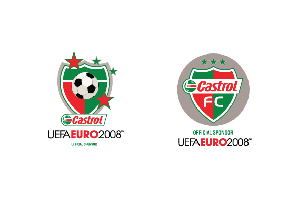 Castrol branding