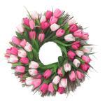 Stimulated Tulip Fall Wreath Spring Door Decor Fabric Front Door Garland Ebay