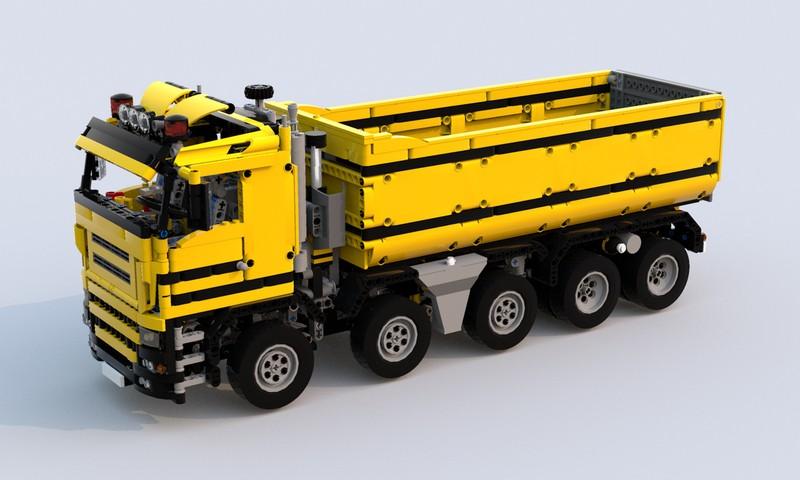 Lego Technic Dump Truck 10X4