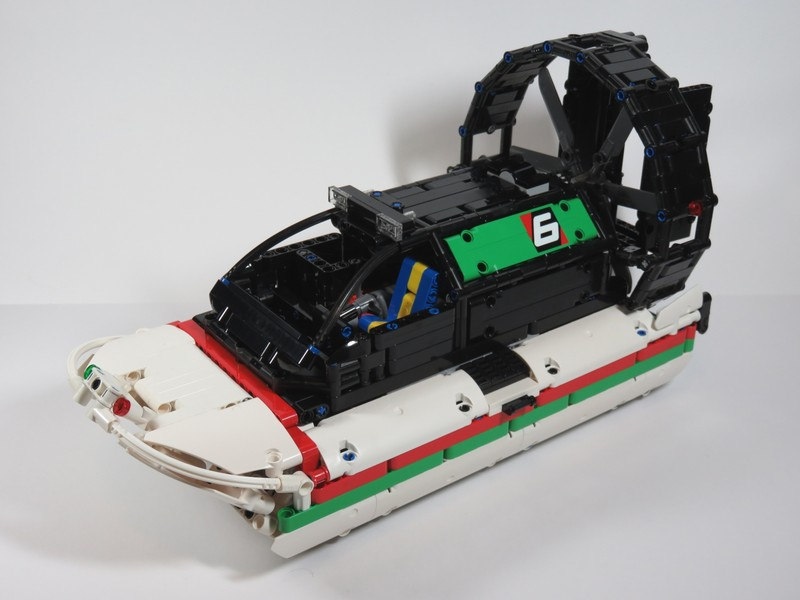 Lego Technic — RC Octan Airboat MOC