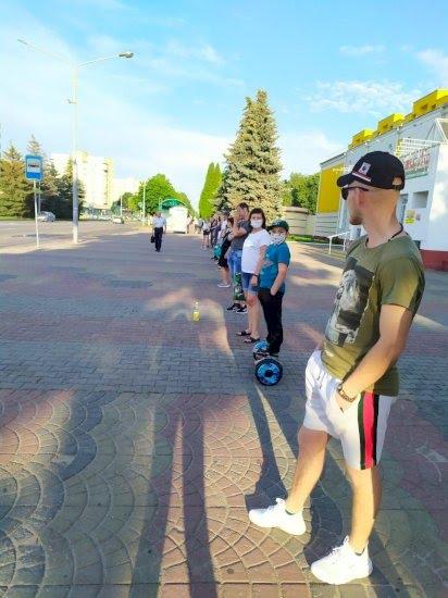Речица Фото: Telegram-канал «Выборы. Беларусь»