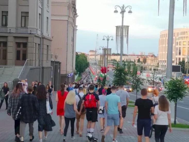 Минск Фото: Telegram-канал «Беларусь головного мозга»