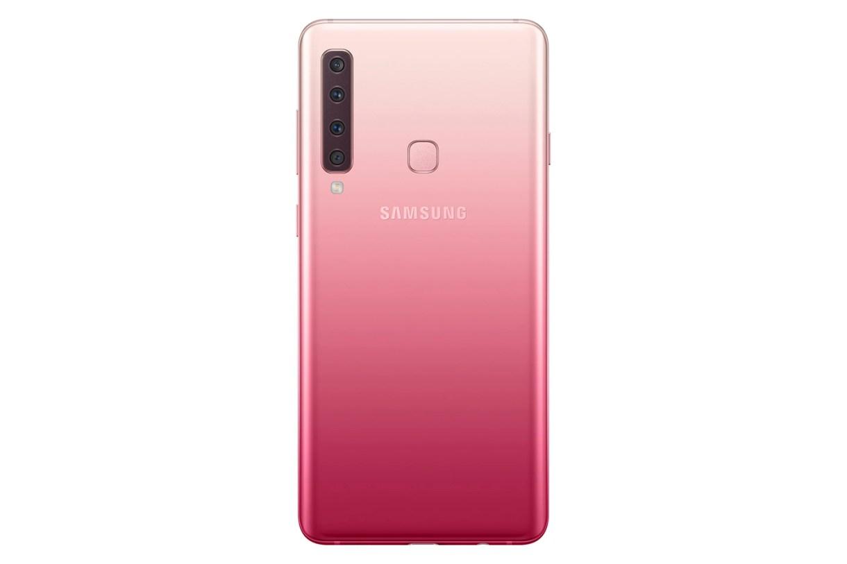 Bubblegum Pink - الإعلان الرسمي عن هاتف سامسونج الجديد جالكسي A9 مع 4 كاميرات خلفية مميزة