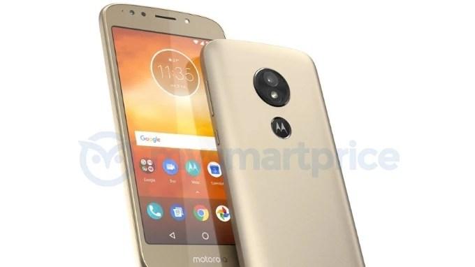 Motorola Moto E5 leaks out - the first modern Moto phone with a rear fingerprint scanner