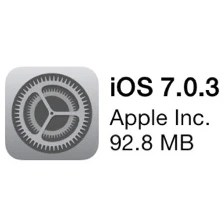 iOS 7.0.3 lets you disable the 'icon fly-in' animation, makes Touch ID unlocking faster