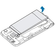 Galaxy S6 has a removable back and replaceable battery, as per the manual, but only with a screwdriver