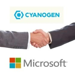 Microsoft signs partnership with Cyanogen, bundled apps and services on their way