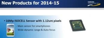 Samsung conferma un MP sensore della fotocamera 16 ISOCELL è alla spina per le future ammiraglie