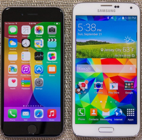 Apple iPhone 6 vs Samsung Galaxy S5: vote for the better ...