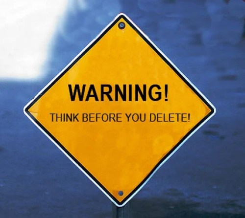 Image result for do not delete