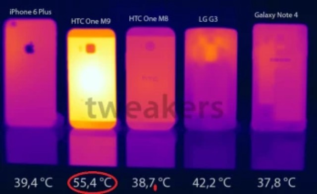Is the Snapdragon 810 behind the very hot surface temperature found on the HTC One M9?