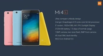 Xiaomi Mi 4i price and release date: shockingly low price ...