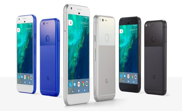 Google Pixel and Pixel XL: all the official images