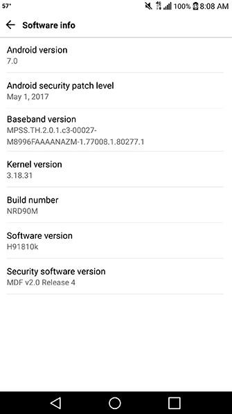 Image result for The T-Mobile version of the LG V20 has started receiving an update to software version H91810k. According to the T-Mobile support page, the update adds the Google monthly security patch, eliminates various bugs, and adds stability to software running on the phone. In addition, a problem with the e911 (enhanced 911) feature is remedied. This is the version of 911 that allows dispatchers to know where you are calling from when you make an emergency call from a smartphone. The update weighs in at 88.7MB. When it arrives on your LG V20, make sure that you are connected to a Wi-Fi network before starting the updating process. In addition, you need to charge the battery on the handset up to at least 50% before moving ahead with the update's installation. Since this is an OTA update, it is sent out on a staggered basis. That means that it can still be a few days before it hits your LG V20. If you're not the patient type, you can try to manually update your handset by going to Settings > General > About phone > Update Center > System update > Check for update. This might not be the most feature-packed software update, but the security patch is important as is the e911 fix. Make sure you take the opportunity to install the update on your LG V20 as soon as possible.