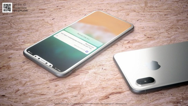 Image result for So, how about depicting a white iPhone 8? Hajek's new concept images are up to the task