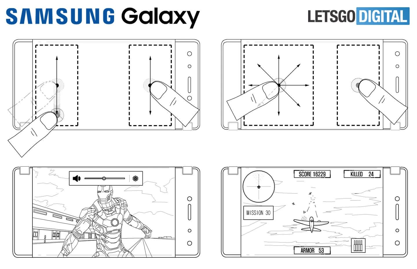 Samsung S New Patent Shows Foldable Smartphone Reminiscent
