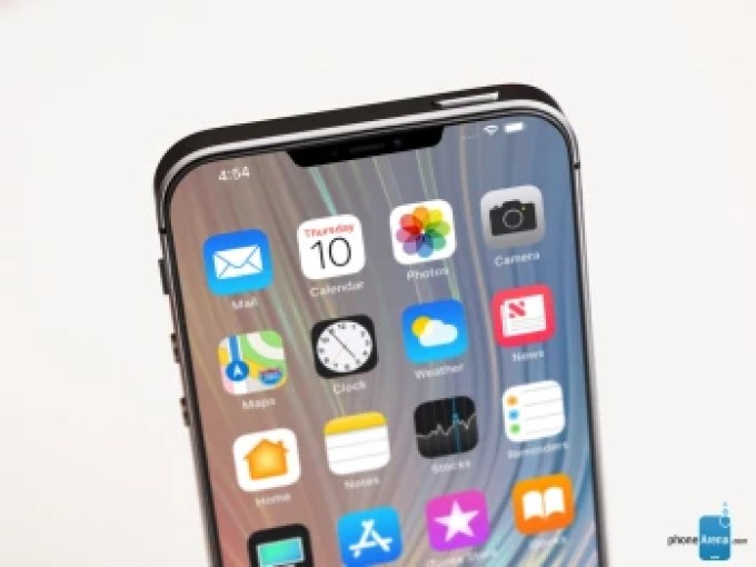 This more angular notch actually goes along quite well with the rumored boxy design of the iPhone SE 2