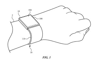 Apple's patent application for watch bands with embedded antennas mentions the possibility of using an in-display fingerprint scanner for the Apple Watch - Patent filing hints at in-display Touch ID for the Apple Watch