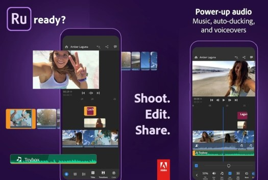 Adobe Premiere Rush is the most professional grade Android video editor, suited for YouTubers and influencers alike. - The 3 best video editing apps on Android, for any budget and skill level