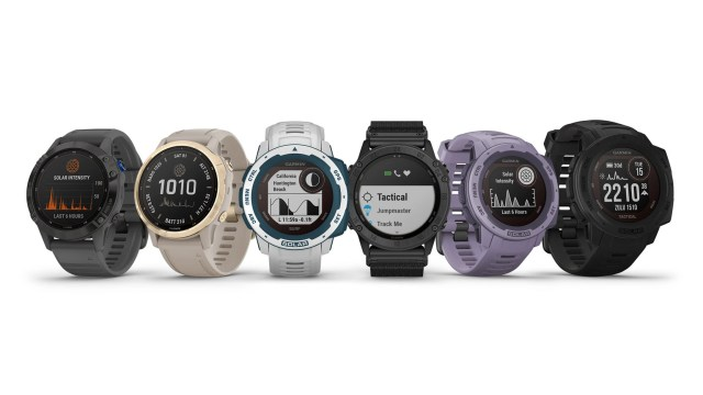 Garmin launches new old solar smart watches