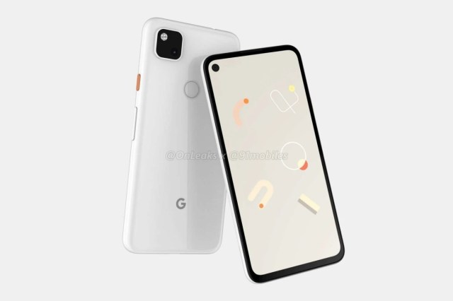 Pixel 4a render leak-at least one U.S. operator expects Google to finally release Pixel 4a 5G