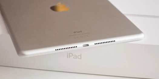 Both speakers on the iPad 8 (shown here) are on the same side. - Apple iPad 8 vs iPad Air 4: Which one should you buy?