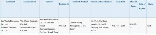 The iPhone 12 mini rated battery capacity - Apple iPhone 12 and 12 mini battery size leak clears the capacity decrease mystery