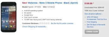 Pre-order the Motorola Moto X from Best Buy