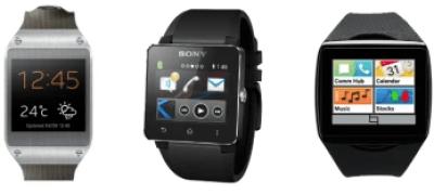 Smartwatch Showdown: Samsung Galaxy Gear vs Sony SmartWatch 2 vs Qualcomm Toq