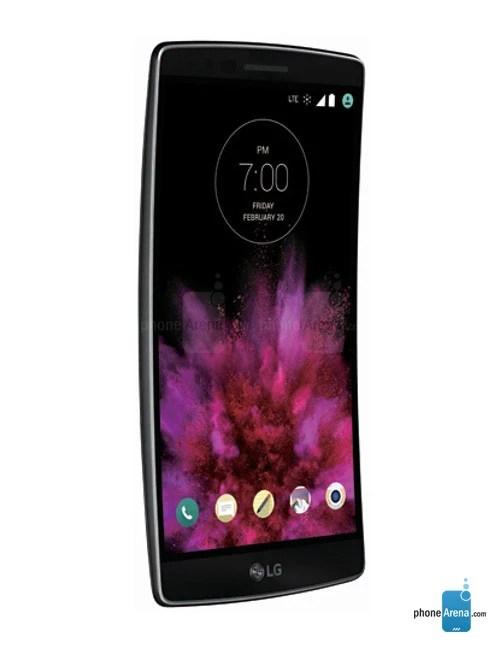 LG G Flex 2 tampak samping kanan