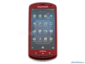 "The 3.7"" Reality Display sports 480x854 resolution - Sony Ericsson Xperia pro Review"