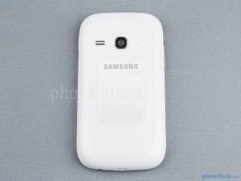 Voltar - Samsung Galaxy jovem Duos Visualização