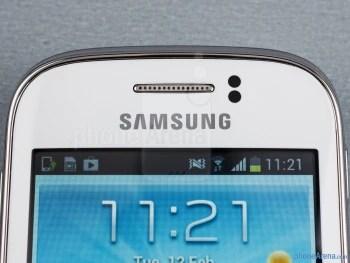 Sensores acima da tela - Samsung Galaxy jovem Duos Pré