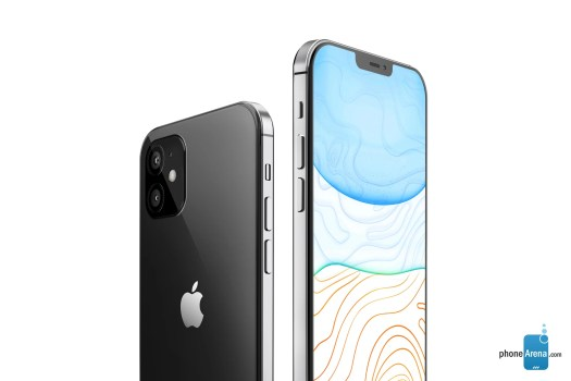 Render of iPhone 12 - iPhone 12 vs iPhone 12 Pro: preliminary comparison