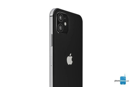 iPhone 12 back render - iPhone 12 vs iPhone 12 Pro: preliminary comparison