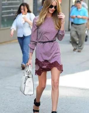 rosie hutington whiteley pendant une virée à new-york le mannequin victoria's