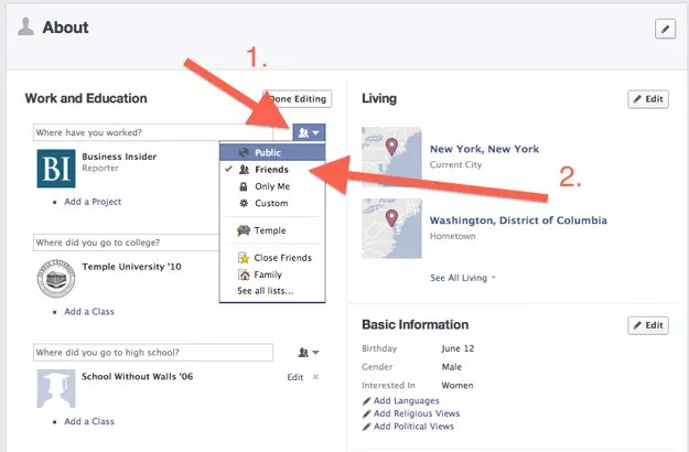 graph search facebook 2