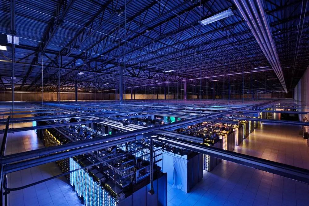 Des datacenters de 10 000 mètres carrés